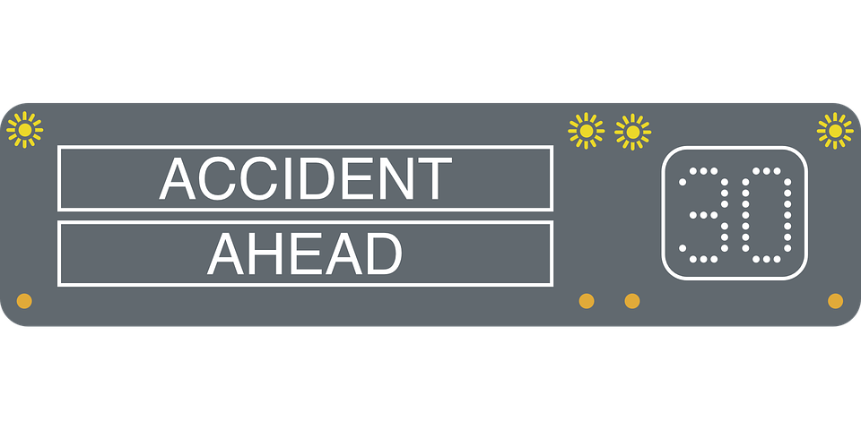 accident ahead